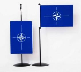 Stolní vlaječky a stojánky pro policii a armádu České republiky