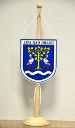 Stolní vlaječka pro obec Lípa nad Orlicí