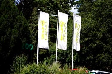 Zakázková výroba reklamních vlajek ZOO Brno
