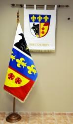 Komunální symboly obce Ostrov