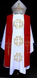 Vyšívané liturgické mešní roucho