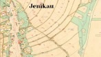 Detail historické mapy - originál mapy stabilního katastru