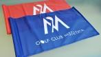 Ukázka tištěných vlaječek pro golfové kluby