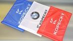 Reklamní golfové vlaječky s logem společnosti