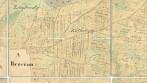 Historická mapa obce/městyse/města – indikační skica, původní mapování