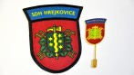 Hasičský nášivka a odznak, SDH Hrejkovice