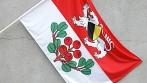 Venkovní tištěné vlajky zakázková výroba