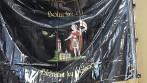 Pláštěnka na slavnostní vyšívanou vlajku nebo prapor