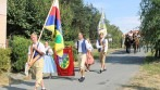 Slavnostní průvod v obci Lipec.