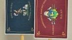 Hasičské oboustranné stolní vlaječky DHZ Bziny