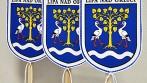 Tištěné stolní vlaječky, zakázka pro obec Lípa nad Orlicí