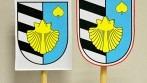 Tištěné oboustranné stolní vlaječky obce Kněžice
