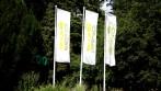 Realizace pro ZOO Brno - výroba venkovních vlajek a stožárů