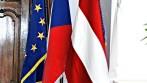 Sametová vlajka ČR, EU a Brna, zakázka pro Magistrát města Brna