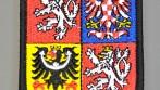 Vyšívaná nášivka státní znak České republiky