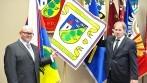 Slavnostní předání vyšívaných symbolů představitelům obce Lipec.