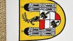 Rohová výšivka - znak městyse Cerhovic.