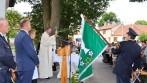 Slavnostní žehnání nových obecních symbolů obce Hodov.