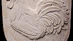 Znak vyhotovený z přírodního českého pískovce