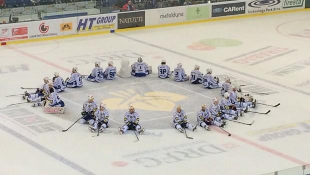 Alerion fandí českému hokeji!